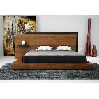Compra rec mara king size hilef francia nogal online for Recamaras de madera modernas king