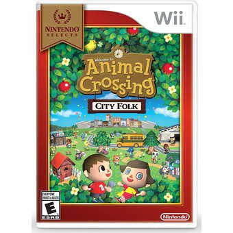 Videojuego Animal Crossing Nintendo Selects Wii Gamer
