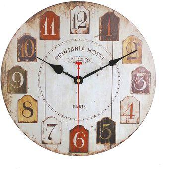 de madera de diseo moderno decorativo colgante reloj de pared relojes de saln decoracin para el