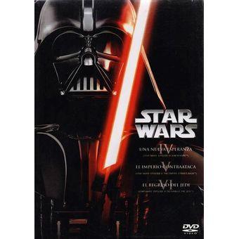 Star Wars Trilogia De Peliculas , Episodios 4 5 6 En Dvd