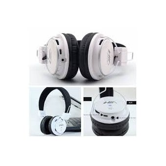 audfonos diadema bluetooth mp fm nia mrh blanco