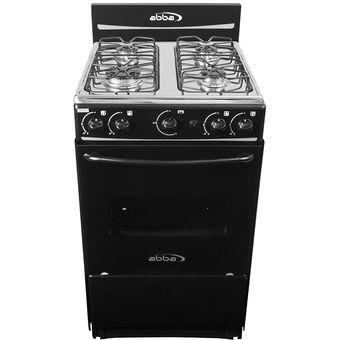 Compra estufa de piso con horno abba at 101 5nn negro - Estufas de gas natural ...