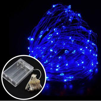 series luces led metros leds alimentado por batera leds alambre de cobre