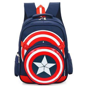 Compra Nueva Escuela Mochilas Avengers Capitan America El Estilo