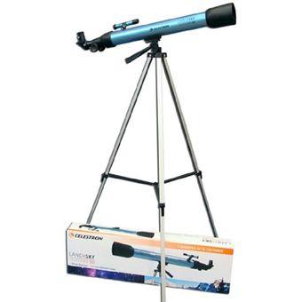 Telescopio Refractor Celestron Land & Sky 21002 150 Aumentos -Azul