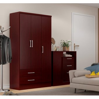 Compra Ropero Closet Bertolini 583 3 Puertas 2 Cajones