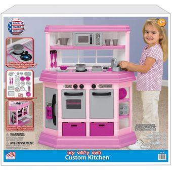 cocina de juguete american plastic toy de lujo para nias