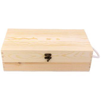 magideal  cm de doble botella caso caja portadora caja de vino