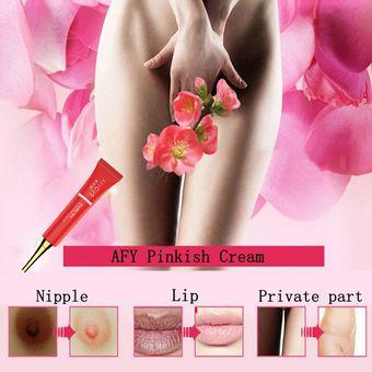 crema aclaradora de genitales