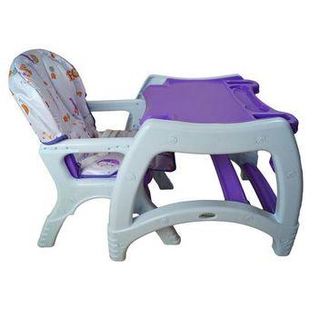 silla para bebe segura comoda escritorio prinsel knder morado
