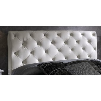 cabecero tapizado base cama king rombos