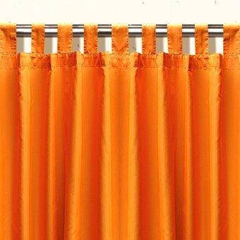 Compra cortinas palma ecobambu naranja online linio m xico for Cortinas naranjas