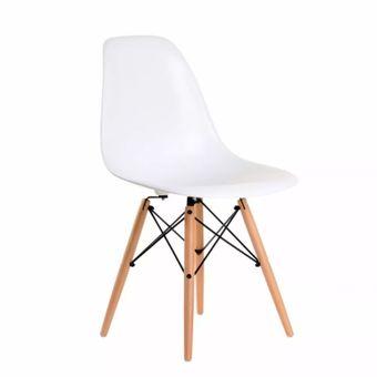 agotado pack sillas modernas tipo eames dsw blancas