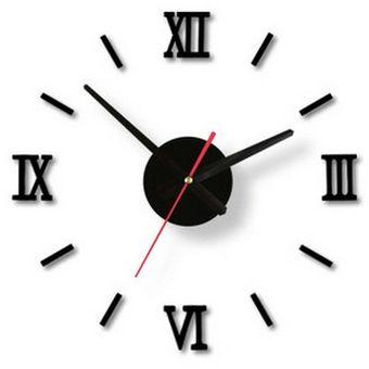 Compra moderno diy interior romano reloj de pared reloj de - Relojes modernos de pared ...