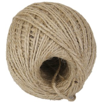 magideal 120m cuerda cuerda de yute yute trenzado de camo natural de secuencia de la cuerda - Cuerda Caamo