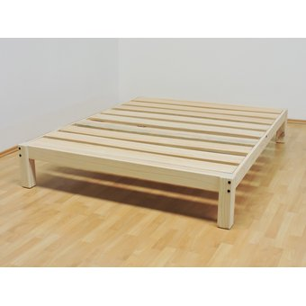 Compra base para cama queen size tradicional desarmable for Base de cama queen size con cajones