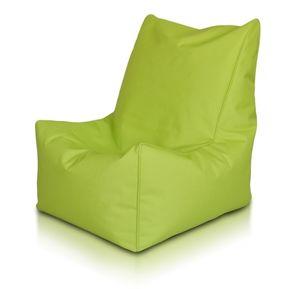 puff silla sofa individual verde manzana lona dormipuff