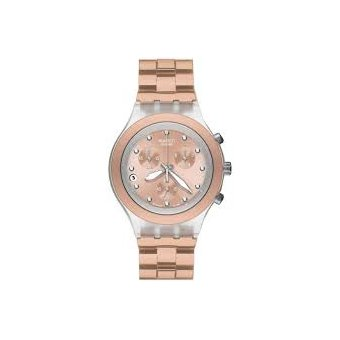reloj swatch full blooded caramel svck