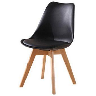 Compra 4 sillas para comedor tipo frankfurt negro for Tipos de sillas para comedor