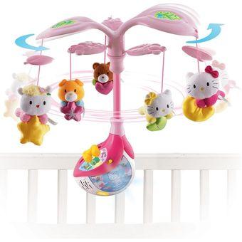 Compra vtech movil para cuna rosa dulces sue os con hello kitty online linio per - Movil para cuna bebe ...