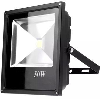 Compra reflector led 50w ultra delgado para exterior for Luz de led para exterior