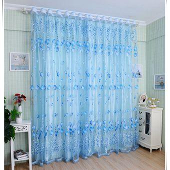 Compra cortinas de estilo de lujo cortinas ventana sheer - Estilo de cortinas ...