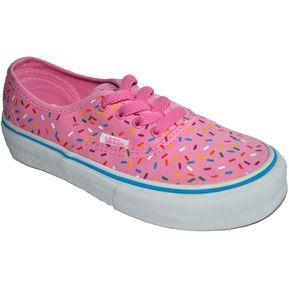 zapatillas vans niña rosa