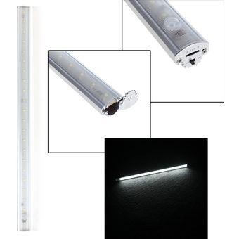led lmpara de deteccin bajo luz del gabinete con pir sensor de movimiento para cocina armario