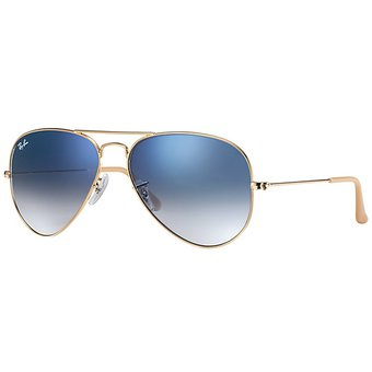 ray ban cristales azules