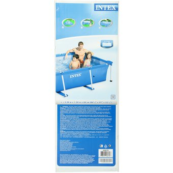 Compra piscina estructural intex azul online linio colombia for Piscina estructural intex