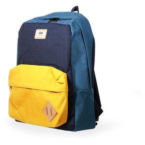 mochila vans azul mujer