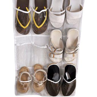 bolsillos colgando armario capas plegable puerta colgante zapatos bolsa multiusos colgante bolso