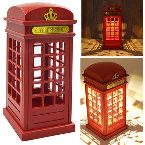 cabina telefnica vintage londres disea