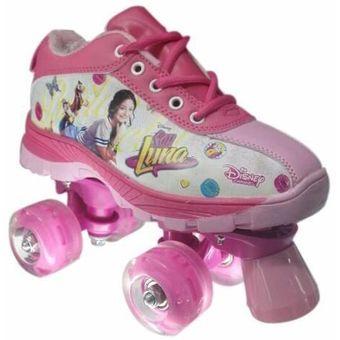 Compra teni patines 4 ruedas soy luna ruedas con luces original online linio colombia - Protectores chimeneas para ninos ...