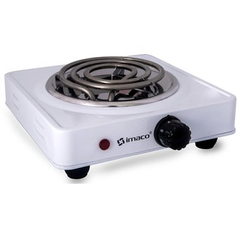 Compra imaco cocina el ctrica 1 hornilla 1000w hp1000 for Cocina electrica portatil