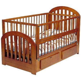 Compra cama cuna beb chocolat madrid caoba online linio for Almacenes de camas en ibague