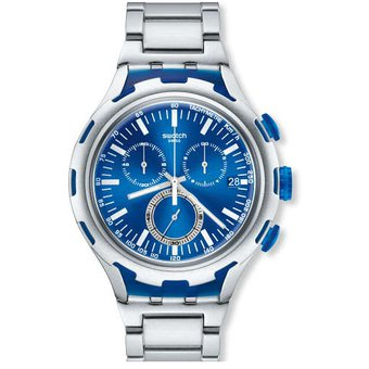 reloj swatch endless energy yysag plateado