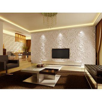 panel decorativo pintable 3d paredes y techos 3d board carol - Panel Decorativo Pared