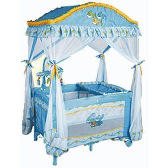 royal baby cuna corral celeste - Cunas De Bebes