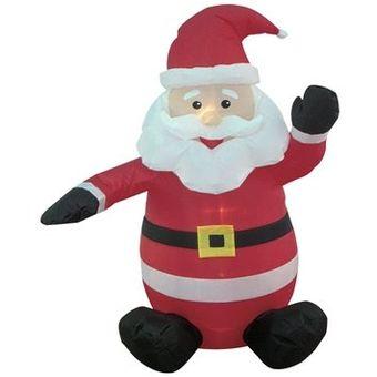 santa clous papa noel inflable decoracin navidea navidad