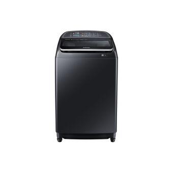 Lavadora Carga Superiror Con Activ Dualwash™, 17 Kg Negra