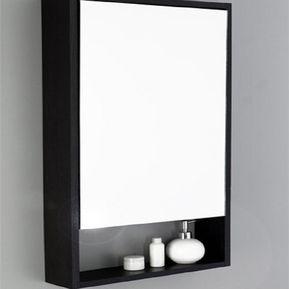 gabinete de bao espejo flotante