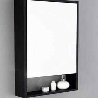 Compra gabinete de ba o espejo flotante 40 online linio for Compra de espejos