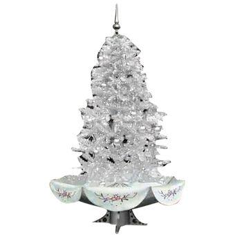 arbol de navidad auto nevado u ss blanco