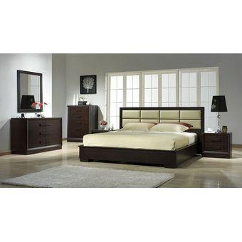 Compra juego de dormitorio completo p l san jose acabado for Muebles piso completo merkamueble
