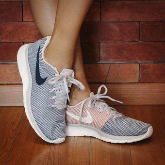 Marino Blanco Zapatilla Nike Tanjun Para Mujer :