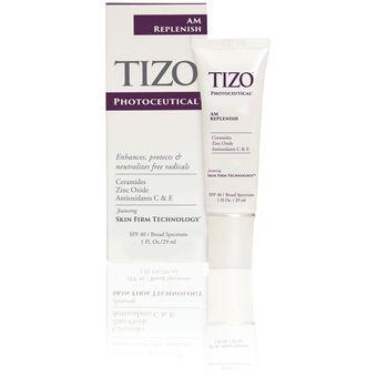 TiZO Photoceutical AM Replenish SPF 40. Crema Hidratante De Día, Protector Y Bloqueador Solar Con Sunscreen SPF40 29 Ml