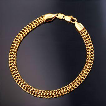 Pulseras de oro mujer