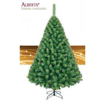 agotado arbol de navidad artificial alberta 220cm 31970 verde