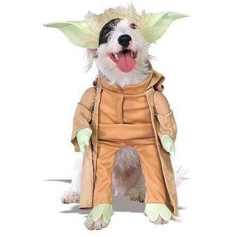 Disfraz Para Perro Star Wars Yoda Vestuario Mascotas